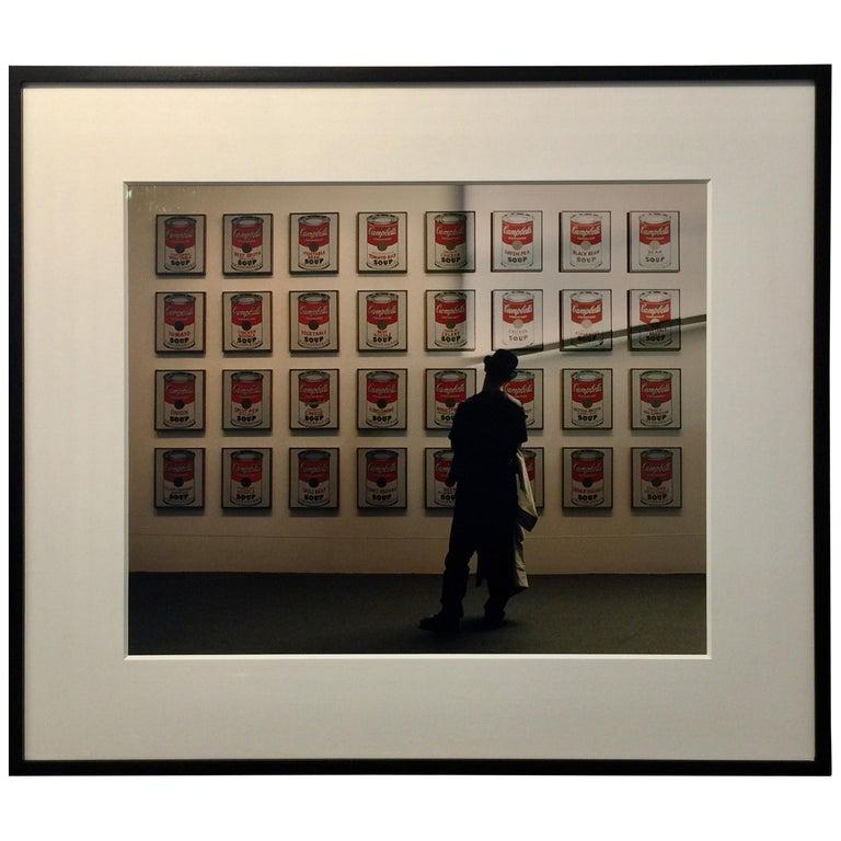 Andy Warhol's Soup Cans - Robert Kent Sharpe Original Vintage Photography For Sale