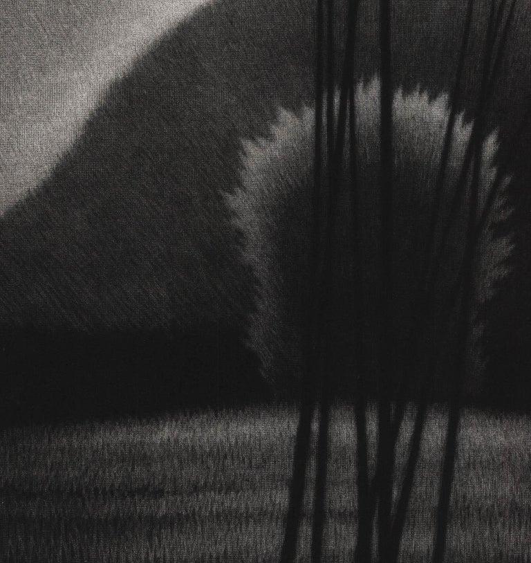 Evening II - Black Landscape Print by Robert Kipniss