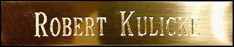 Robert Kulicke Original Painting Glazed Ceramic Tile Still Life Fruit Signed Art For Sale 2