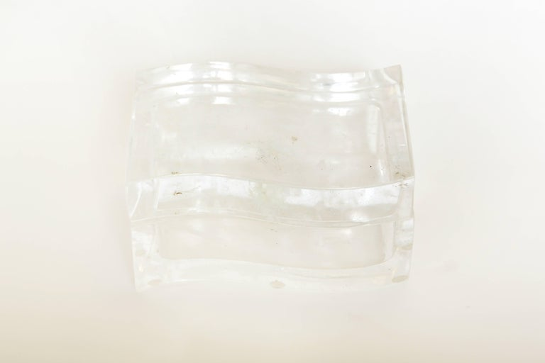 Late 20th Century Robert Kuo Rock Crystal Box For Sale