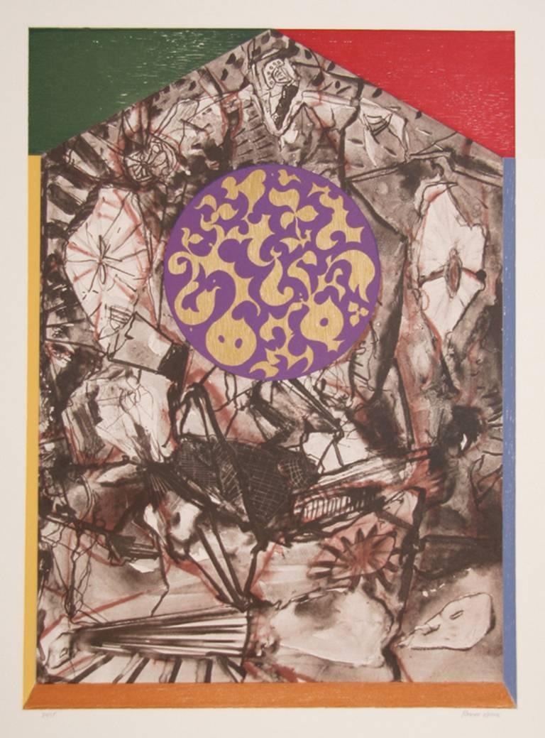 Robert Kuszek Abstract Print - Untitled 2