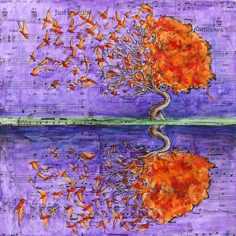 We Choose To Forget - Mixed Media Art by Robert Lebsack