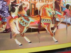 Carousel Horse, Painting, Oil on Canvas