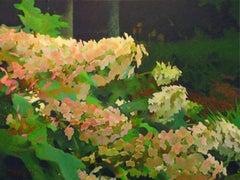 Hydrangeas, Painting, Oil on Canvas