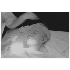 "Robert Levin, ""Andy Warhol Getting Facial Treatment, 1981"" Print, USA, 2015"