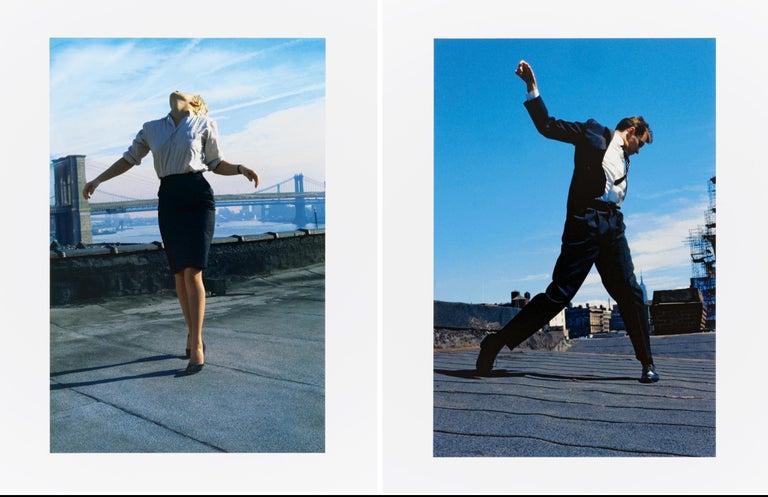 Robert Longo Color Photograph - Cindy And Eric