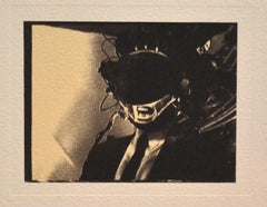 """A Single Frame - From the """"Mnemonic Pictures Folio"""" - Photolithograph by R.Longo"""