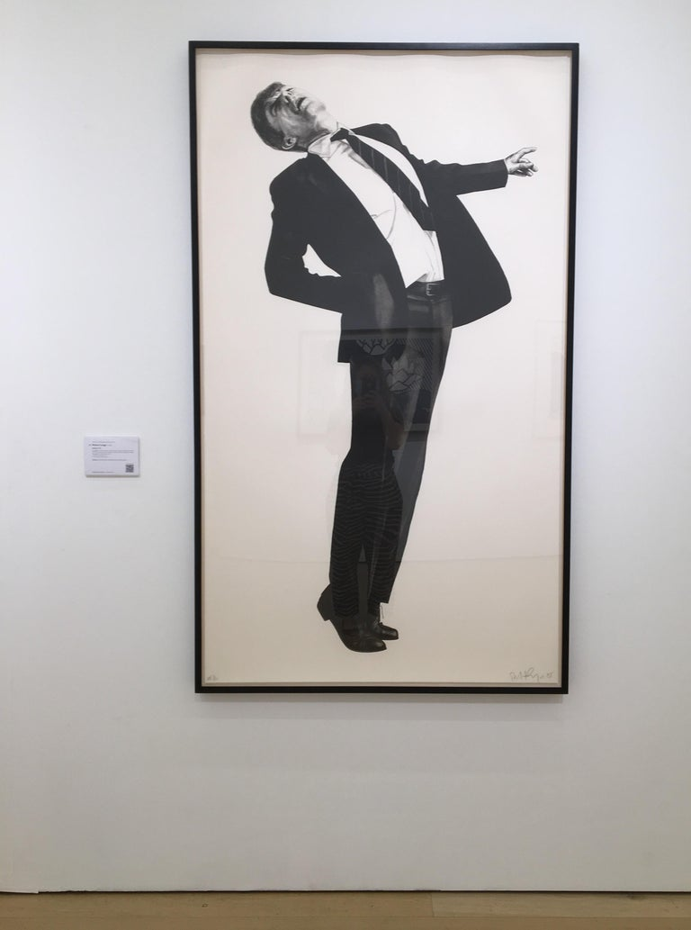 Edmund from Men in the Cities - Print by Robert Longo