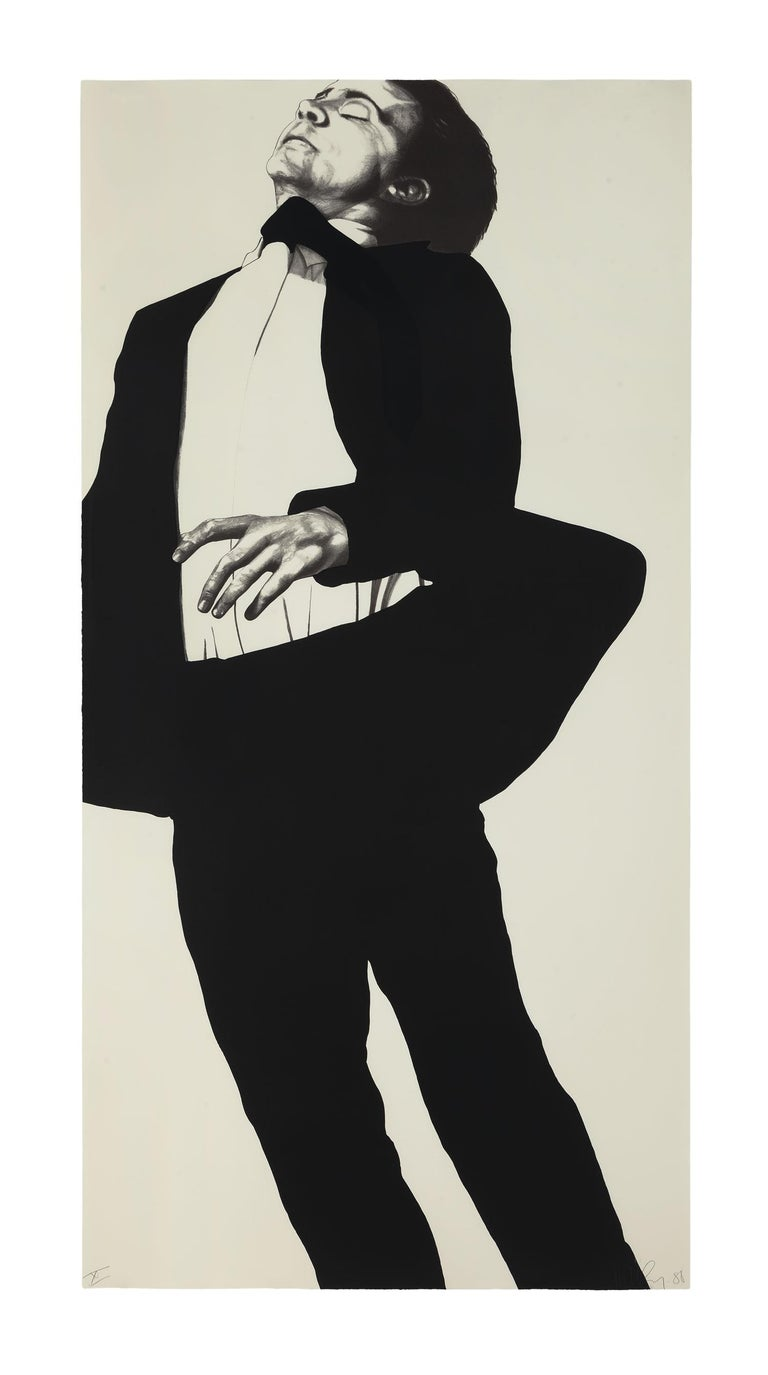 Meryl and Jonathan, from Men in the Cities - Contemporary Print by Robert Longo
