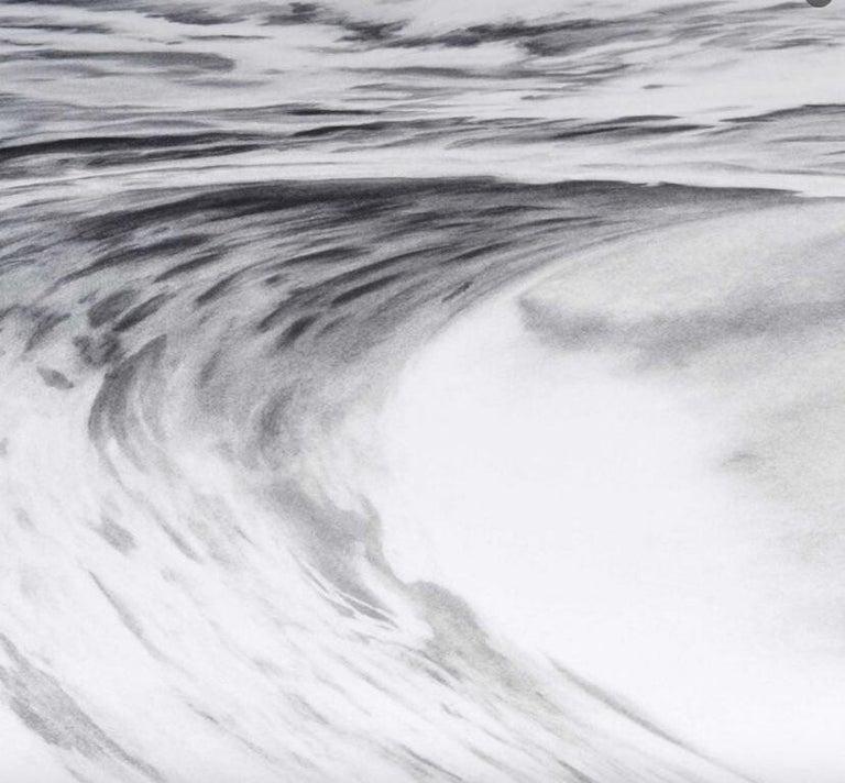 Robert Longo, Angel's Wing (Wave) - Contemporary Print by Robert Longo