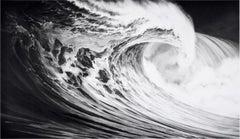 Robert Longo, Angel's Wing (Wave)