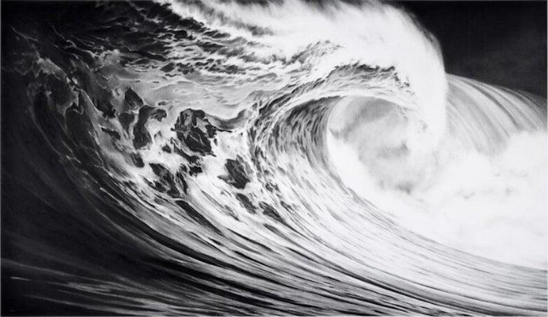 Robert Longo, Angel's Wing (Wave) - Print by Robert Longo