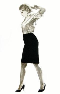 """Robert Longo, """"Cindy"""" Lithograph, 2002 """"Cindy Sherman"""""""