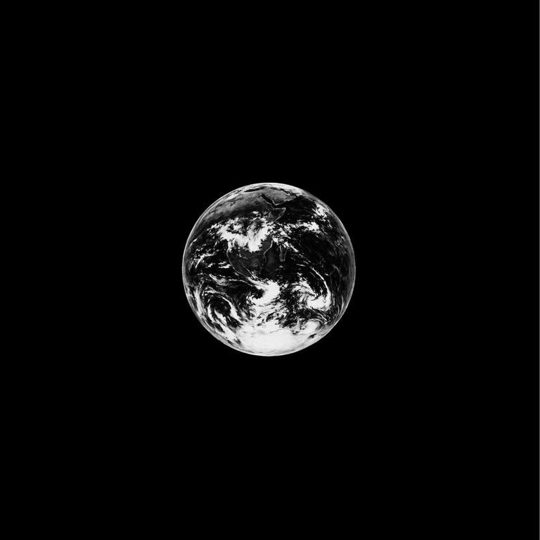 Robert Longo (American, born 1953) Small Earth, 2012 Medium: Pigment print on Epson paper Dimensions: 43.2 x 43.2 cm Edition of 30: Hand signed Condition: Excellent