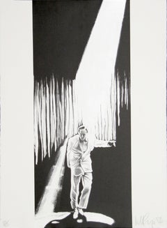 Talking Heads, Lithograph by Robert Longo
