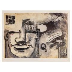 Robert Loughlin Art Exhibition Invitation Postcards