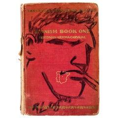 Robert Loughlin Brute, Black Marker on Book, Signed