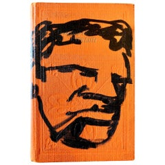 Robert Loughlin Original Drawing on a Book