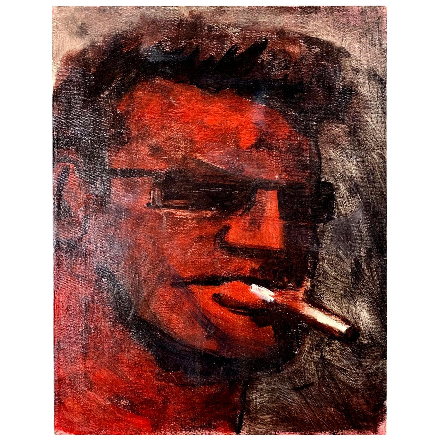 Robert Loughlin Original Painting on Canvas