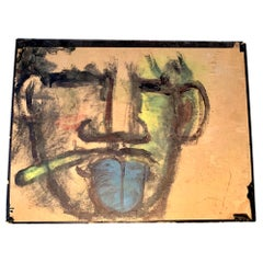 Robert Loughlin Original Painting on Cardboard