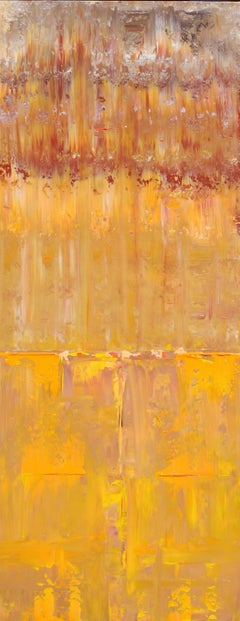 Abstract Autumn Concept, Painting, Acrylic on Canvas