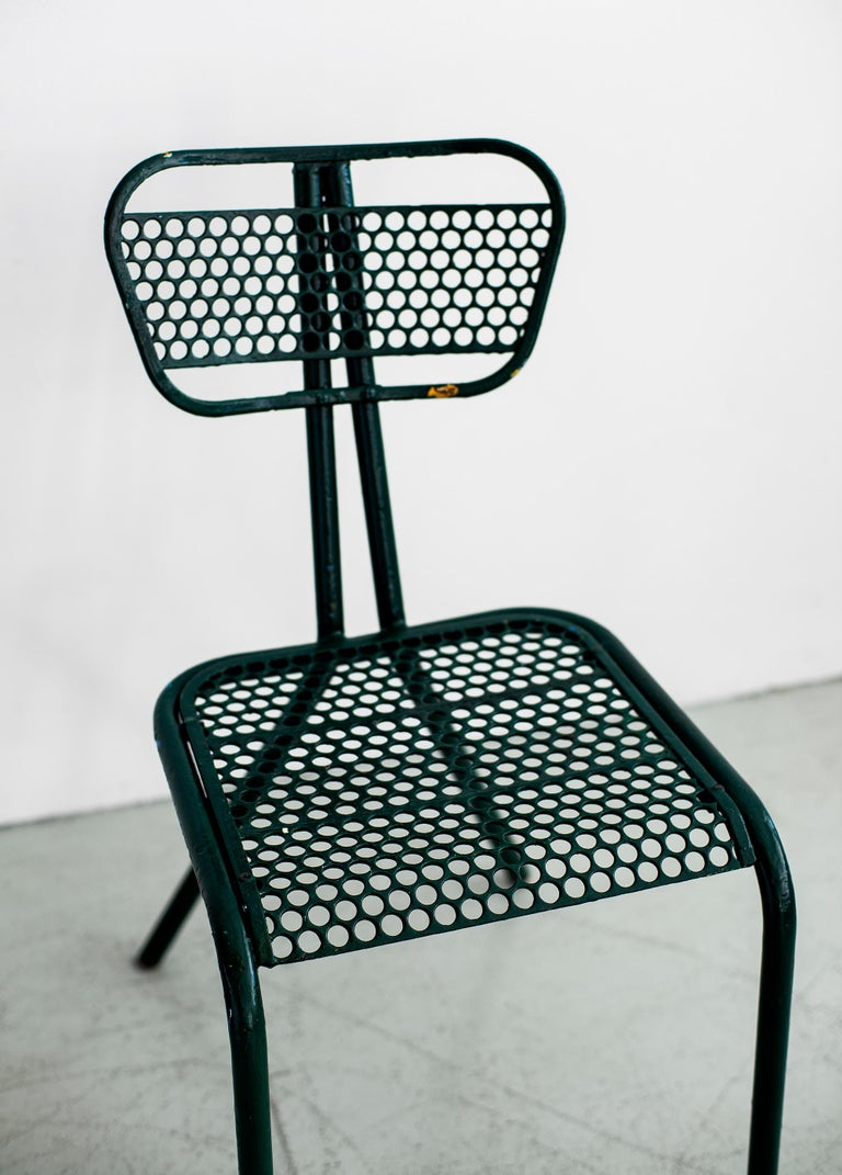 Mid-20th Century Robert Malaval Chairs, Set of 4 For Sale