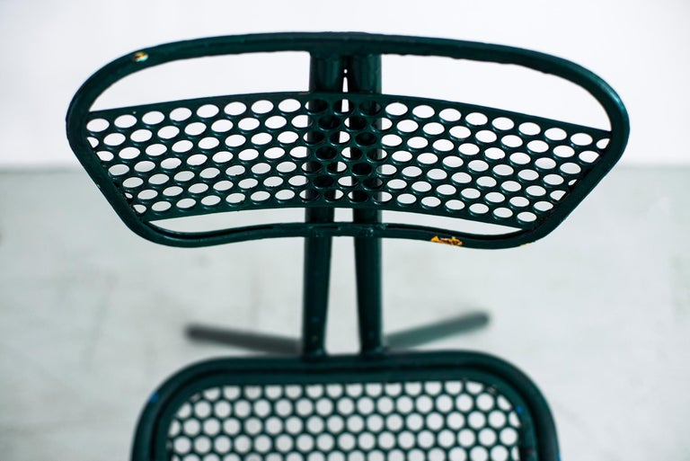 Iron Robert Malaval Chairs, Set of 4 For Sale