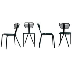 Robert Malaval Chairs, Set of 4