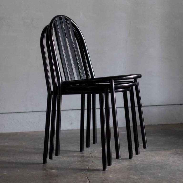 Metalwork Robert Mallet-Stevens Dining Chair For Sale