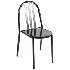 Robert Mallet-Stevens Twelve Black Dining Chairs for Pallucco, 1980s