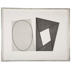 "Robert Mangold ""Frame and Elipses"""