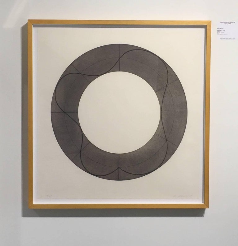 Ring Image B - Abstract Print by Robert Mangold