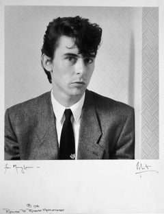 Pete Farndon, bassist, founding member of band Pretenders by Robert Mapplethorpe