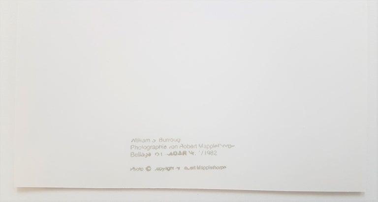 William S. Burroughs (Stamped) 1