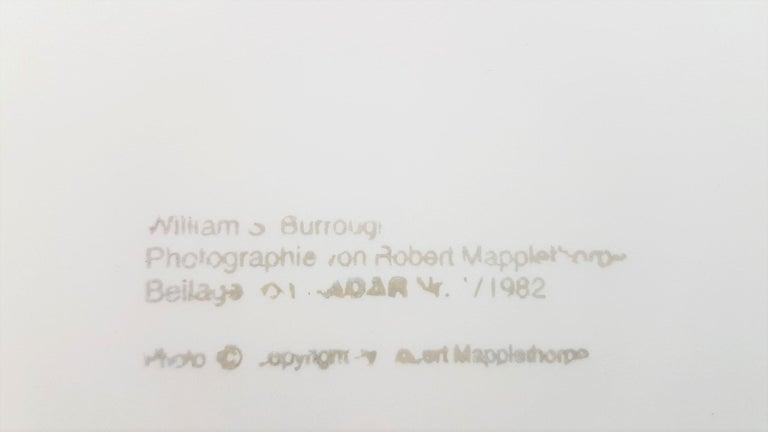 William S. Burroughs (Stamped) 2