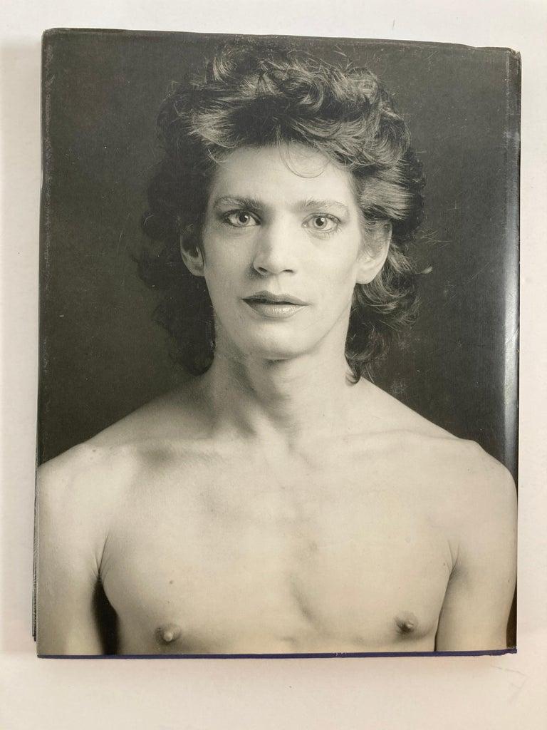 American Robert Mapplethorpe Portraits Hardcover Book For Sale