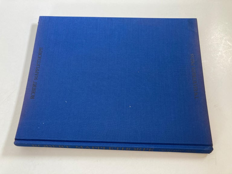 Robert Mapplethorpe Portraits Hardcover Book In Fair Condition For Sale In North Hollywood, CA