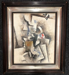 Robert Marc 20th Century Abstract Oil Painting