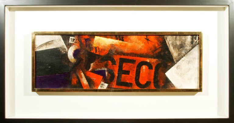 Robert Marc - Untitled (9618), cubist, post cubism, french, painting, abstract - Cubist Painting by Robert Marc