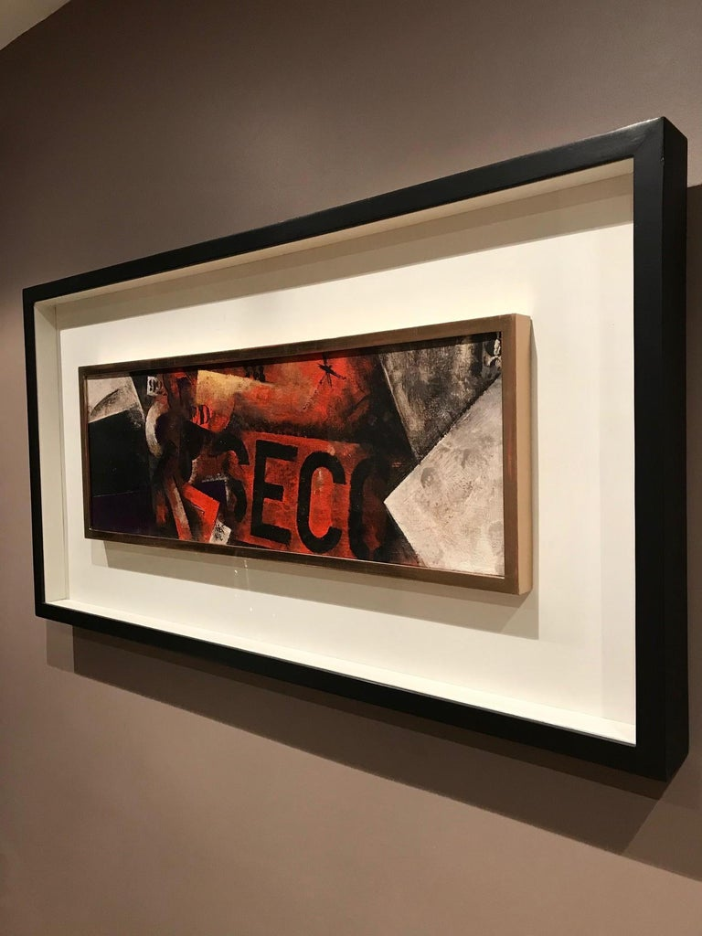 Robert Marc - Untitled (9618), cubist, post cubism, french, painting, abstract For Sale 5
