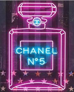 Dee Purple Chanel Bottle