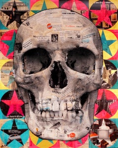 Robert Mars, 'A Chance To Move Ahead' Skull, 2019