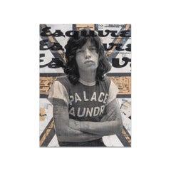 Robert Mars, Mixed Media on Panel, WHERE EAGLES DARE (Mick Jagger)