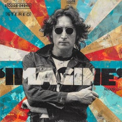 """Working Class Hero"" - John Lennon, pop, iconic, celebrity, The Beatles, Beatles"