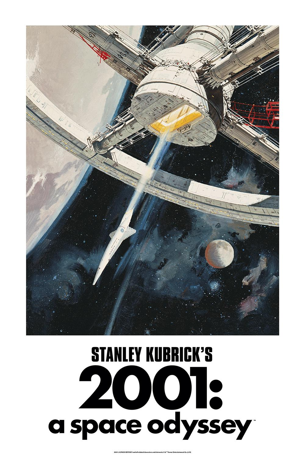 Robert McCall- 2001: A Space Odyssey: Lenticular ED - Cinema Movie Posters