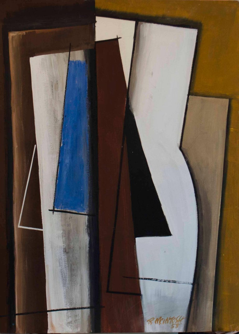 Robert McIntosh Abstract Painting - Ascension