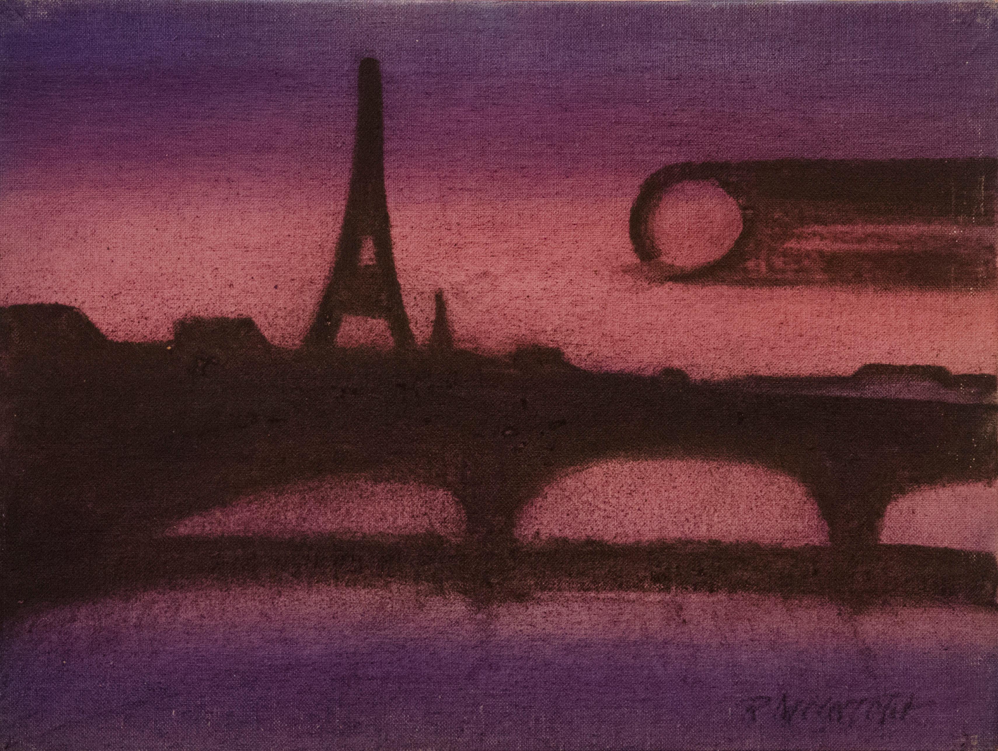 Paris in Purple