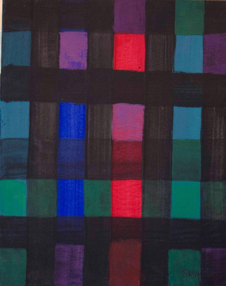 Robert McIntosh Abstract Painting - Squared