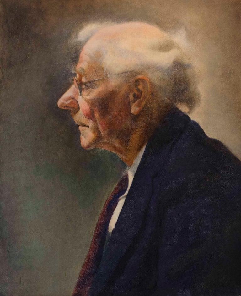 Robert McIntosh Figurative Painting - The Professor