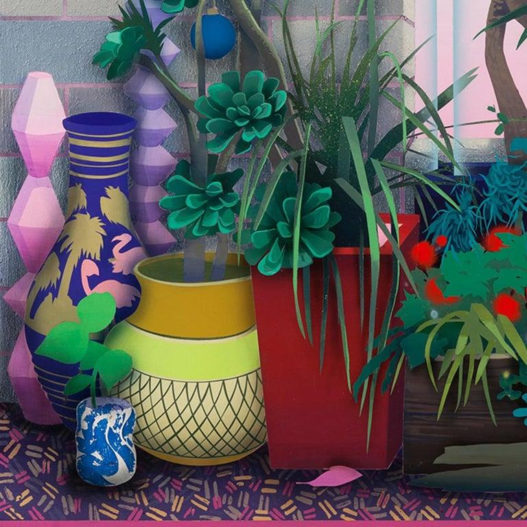 Wild Garden  - Contemporary Painting by Robert Minervini